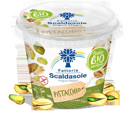 Yogurt Magro Pistacchio Biologico 250gr Fattoria Scaldasole